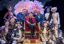 Andrew Lloyd Webber, Gillian Lynne, Cameron Mackintosh, photo by Craig Sugden