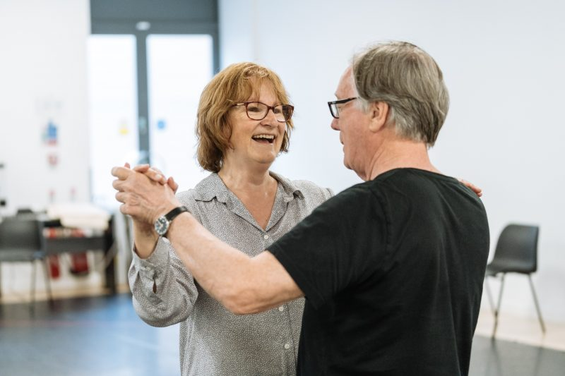 Deborah Findlay - Rehearsals for Allelujah! - Photo credit Manuel Harlan