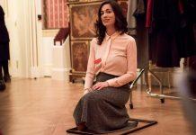 Dimitra Barla as Margot in The Cloakroom Attendant Credit Yiannis Katsaris