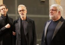 First Look Lehman Trilogy in Rehearsal