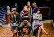 Stephen Joseph Theatre, Alan Ayckbourn, A Brief History of Women, Russell Dixon, Antony Eden, Frances Marshall, Laura Matthews, Laurence Pears, Louise Shuttleworth