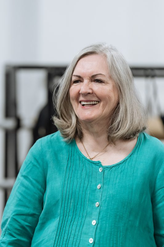 Gwen Taylor - Rehearsals for Allelujah! - Photo credit Manuel Harlan