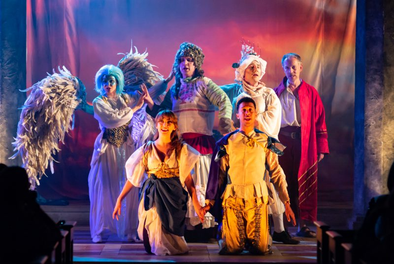 Iris Theatre's The Tempest (St. Paul's Church) - courtesy of Nick Rutter