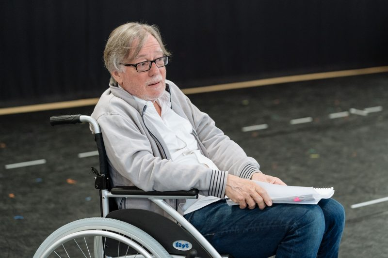 Jeff Rawle - Rehearsals for Allelujah! - Photo credit Manuel Harlan