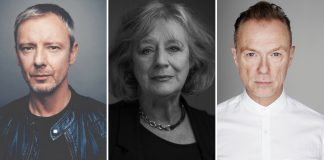 John Simm, Maggie Steed, Gary Kemp Pinter at The Pinter