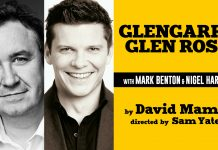 Mark Benton and Nigel Harman Will Star in Glengarry Glen Ross Tour