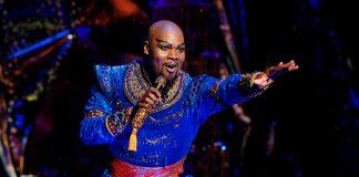 Michael James Scott in Aladdin North American Tour. Photo by Deen van Meer (c) Disney
