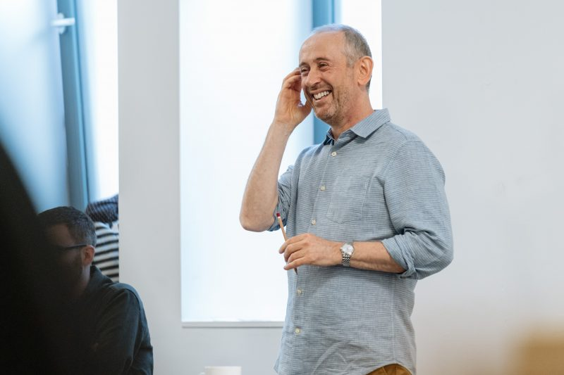 Nicholas Hytner - Rehearsals for Allelujah! - Photo credit Manuel Harlan