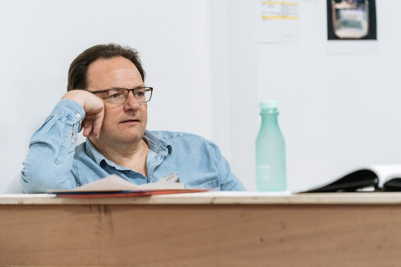 Peter Forbes - Rehearsals for Allelujah! - Photo credit Manuel Harlan