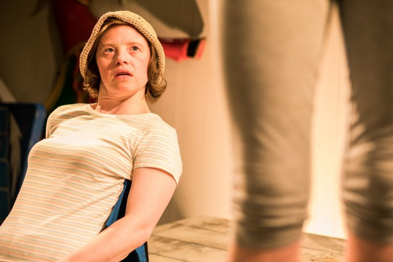 Sarah Gordy as Kelly in 'Jellyfish' at Bush Theatre. Photo Samuel Taylor (2)