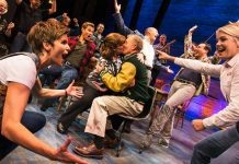 The Original Broadway cast of Come From Away c. Matthew Murphy