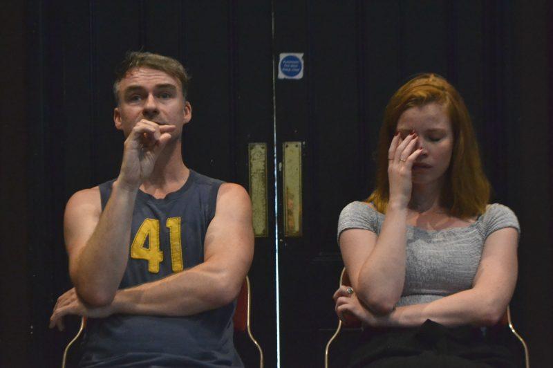Bluebird in Rehearsal