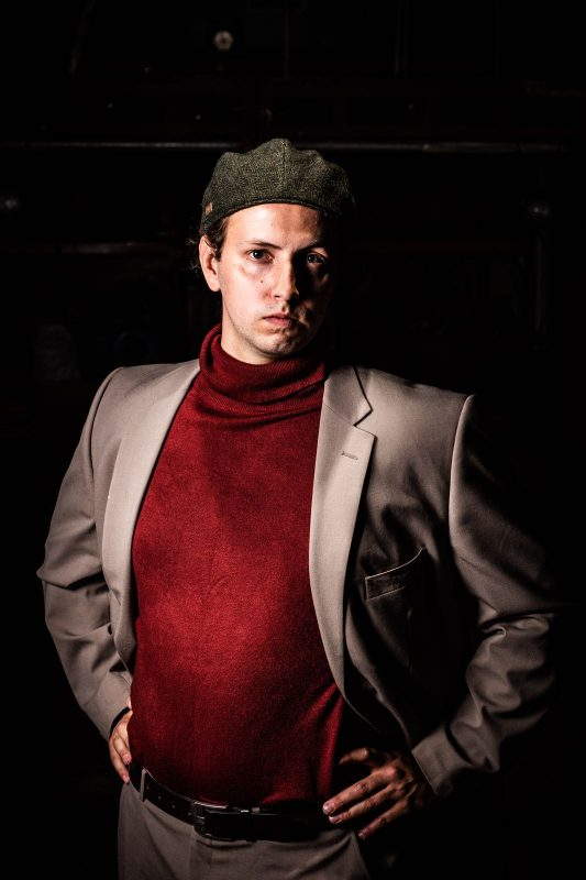 Benjamin Coffin III - Dom Curtis - Copyright Jamie Scott