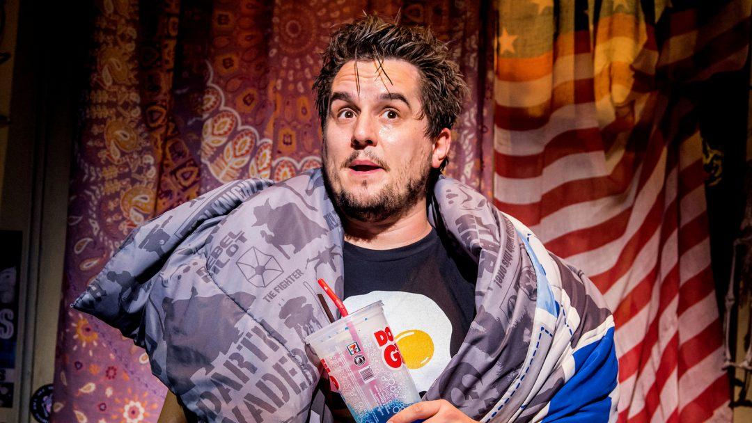 Craig Gallivan as Dewey Finn credit Tristram Kenton