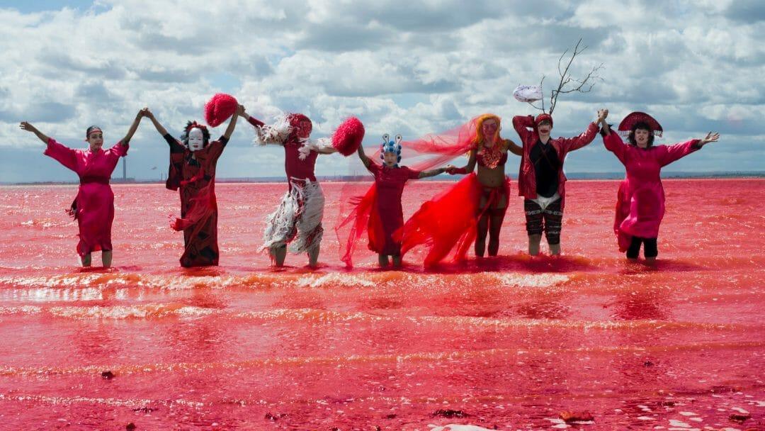 Dr Carnesky's Incredible Bleeding Woman tour