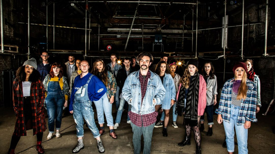 The Cast of Rent at Frogmore Papermill c Jamie Scott