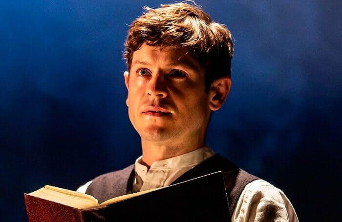 Iwan Rheon in Foxfinder. Credit Pamela Raith