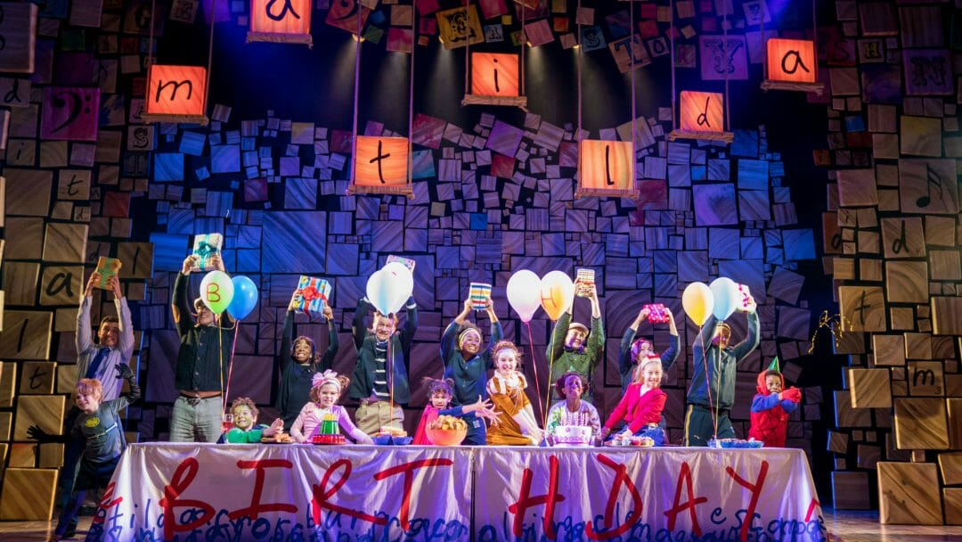 Matilda The Musical UK Ireland Tour c. Manuel Harlan