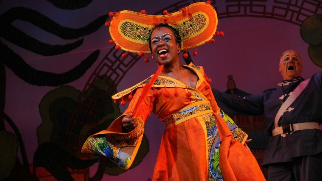 Tameka Empson in Aladdin at Hackney Empire 2009