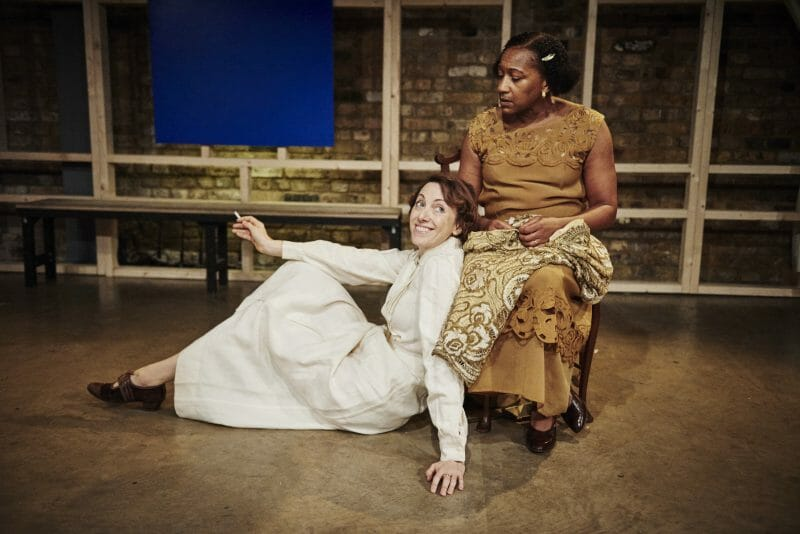 Clare Lawrence Moody (Sally) and Clare Perkins (Clarissa) (c) Ollie Grove