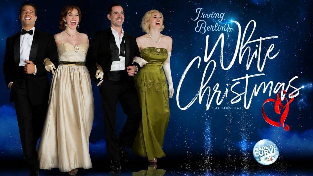 Curve White Christmas Danny Mac, Emma Williams, Dan Burton & Monique Young