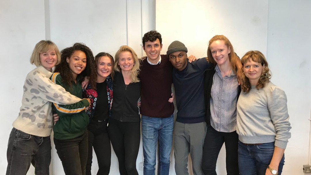 Director Kate Wasserberg; cast members Ruby Barker, Chloe-Ann Tylor, Sophie Melville, Dylan Wood, Bradley Banton, Kathryn O'Reilly; and writer Kate Bowen (writer)