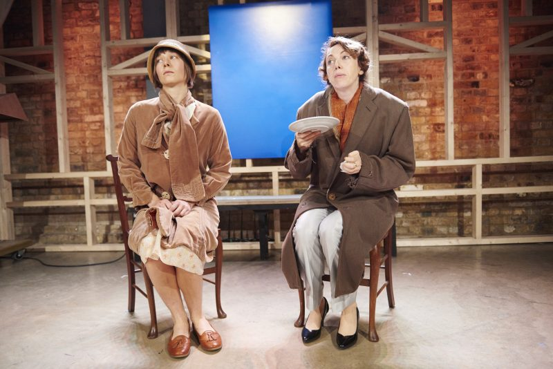 Emma D'arcy (Rezia) and Clare Lawrence Moody (Sally) (c) Ollie Grove