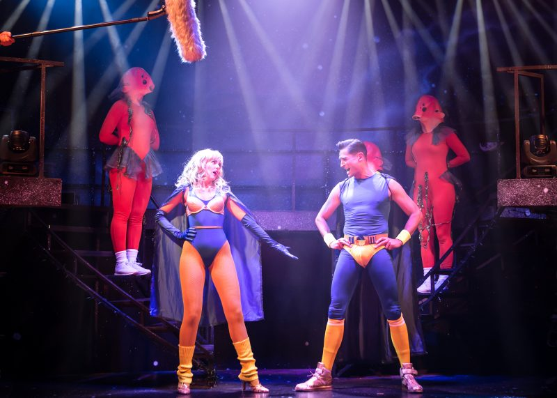 Eugenius Emily Tierney as Carrie and Simon Thomas as Gerhard Photo Scott Rylander