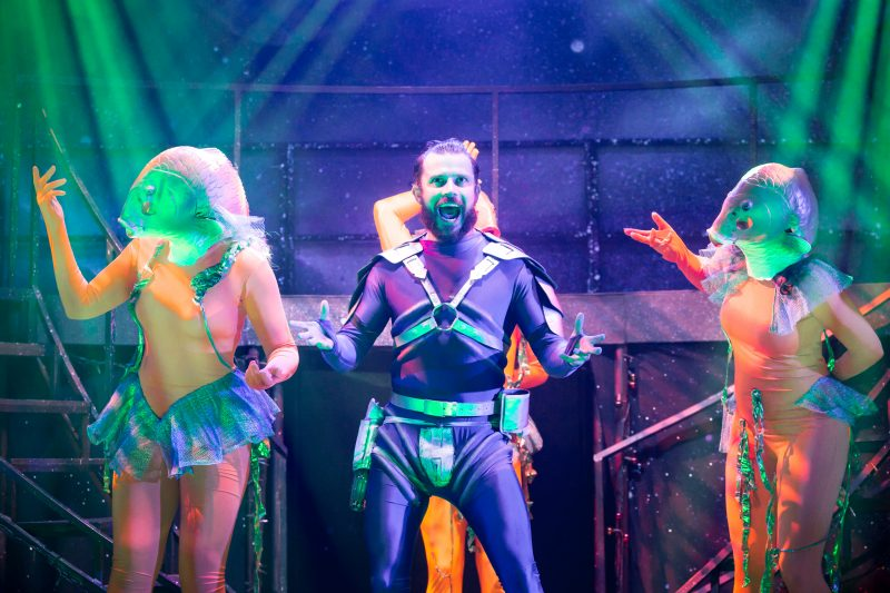 Eugenius - Neil McDermott as Evil Lord Hector and Company Photo Scott Rylander