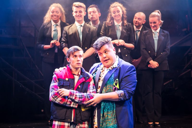 Eugenius Rob Houchen as Eugene, Scott Paige as Theo and Company Photo Scott Rylander
