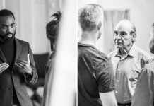 First Look Pinter One and Pinter Two in Rehearsal