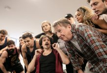 First Look Rock of Ages in Rehearsal
