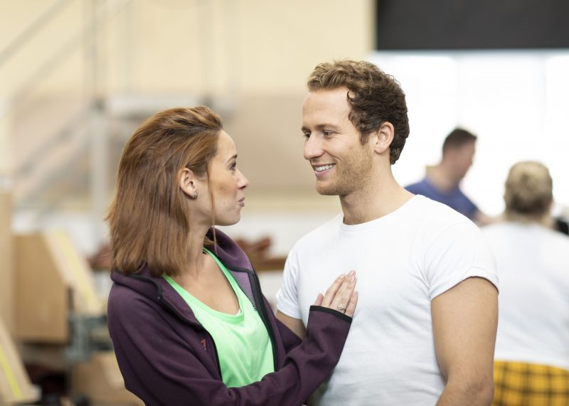 Helen-Ternent-Nicola-and-Joel-Harper-Jackson-Charlie-in-rehearsal-for-Kinky-Boots-UK-Tour-Photo-Credit-Helen-Maybanks