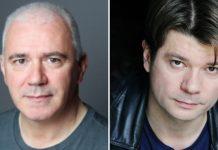 Paul Lloyd and Nick Danan