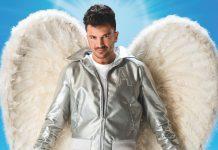 Peter Andre as Teen Angel in Grease c Hugo Glendinning
