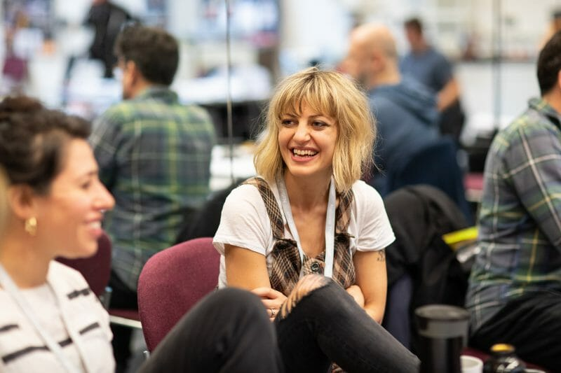 First Look: Hadestown at The National Theatre in Rehearsal