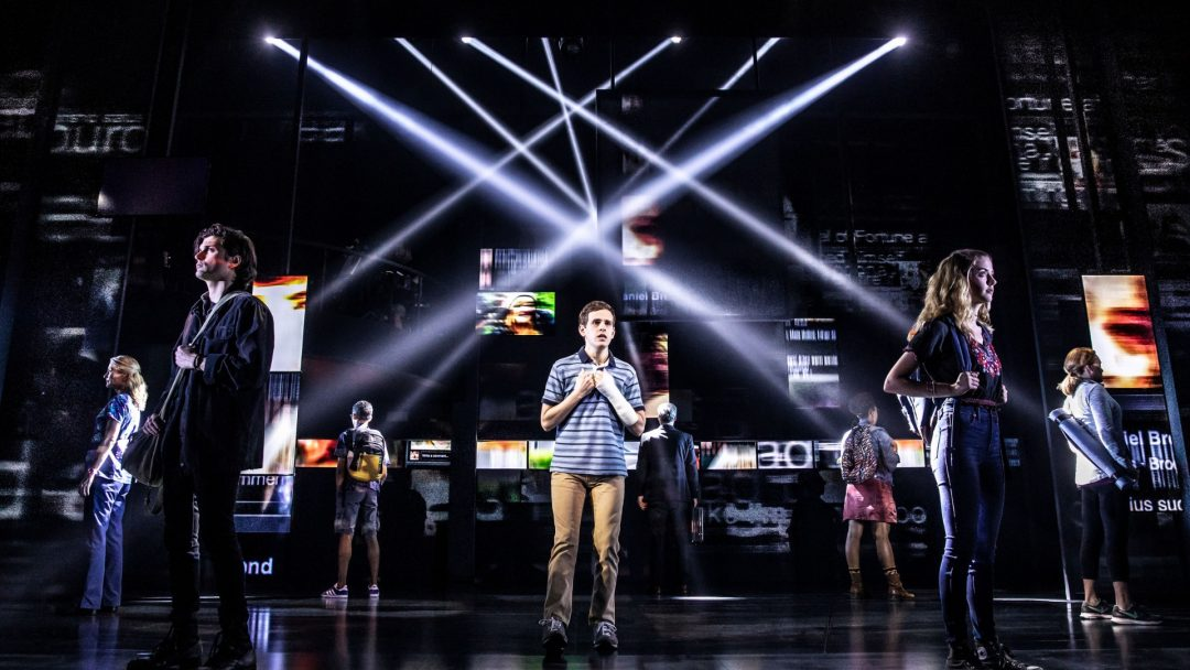Current Broadway cast (2018) of Dear Evan Hansen, c. Matthew Murphy