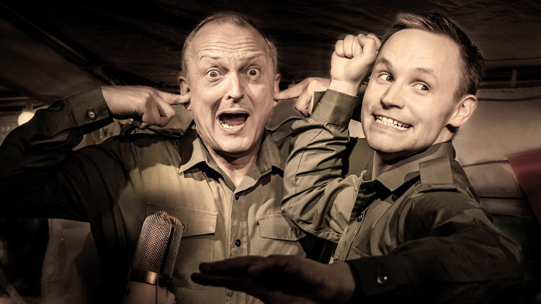 Dads Army Radio Show David Benson and Jack Lane Photo Richard Davenport