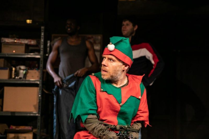 Dan Starkey in The Night Before Christmas photo credit Darren Bell