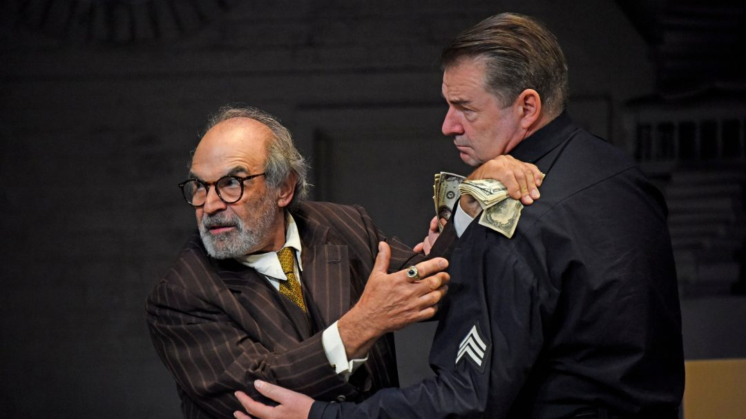 David Suchet and Brendan Coyle in The Price. Credit Nobby Clark