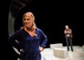 Imogen Stubbs Henry Goodman in Honour Tiny Fires Park Theatre. Photo by Alex Brenner