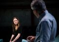 Katie Brayben Henry Goodman in Honour Tiny Fires Park Theatre. Photo by Alex Brenner
