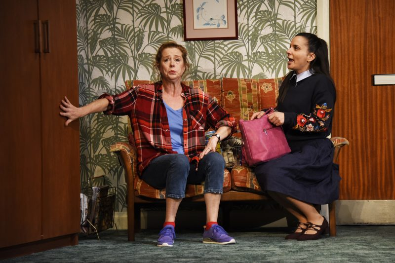 Lisa Howard as Anthea and Suzanne Ahmet as Maggie Photo by Nobby Clark┬®nc Dont Pay Wont Pay