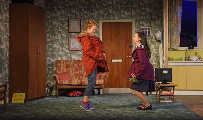 Lisa Howard as Anthea and Suzanne Ahmet as Maggie photo by Nobby Clark ©nc Dont Pay Wont Pay