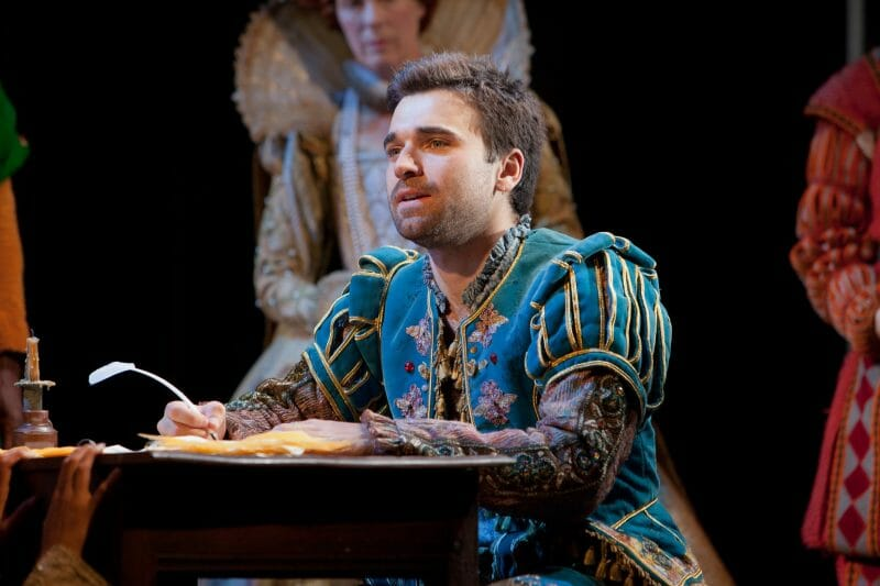 Pierro Niel Mee in Shakespeare in Love UK tour. Credit Pete Le May