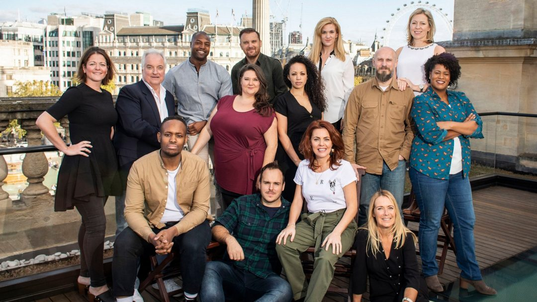 The Cast of Come from Away c. Helen Maybanks