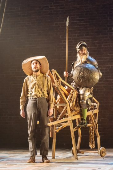 Will Bliss and David Threlfall in the Royal Shakespeare Companys Don Quixote. London . Photography by Manuel Harlan