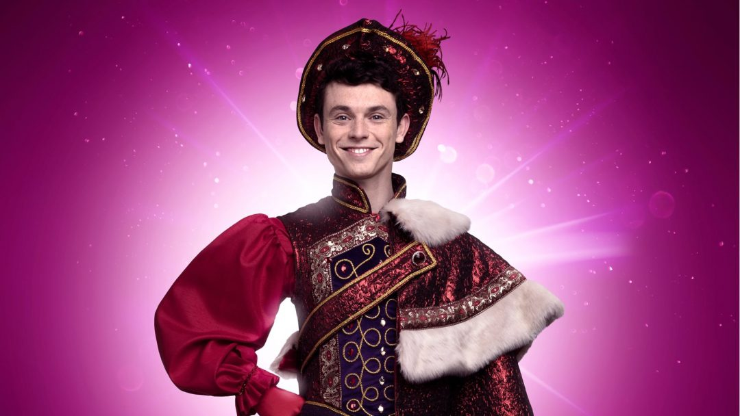 charlie stemp as the prince in snow white c. image st