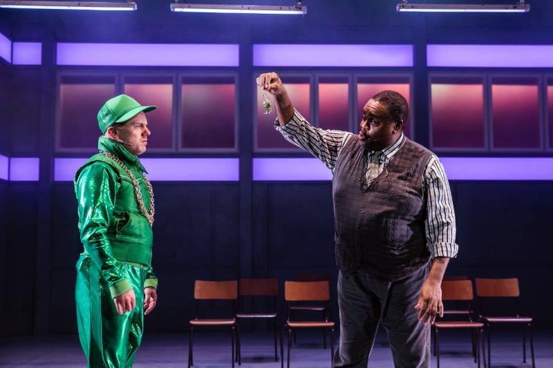 harry jardine clive rowe l r in in the willows uk tour photo by richard davenport