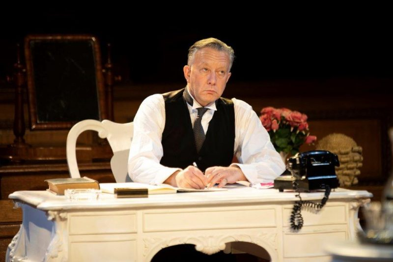 Jasper Britton as Sir Wilfrid Robarts in Witness for the Prosecution Credit Ellie Kurttz